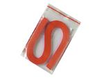 Proužky na Quilling šířka 3mm - tmavě oranžové