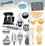 StampoClear Gelová razítka - Cukrárna