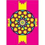 Obrázek pro pískování  23x33 cm - Mandala 4