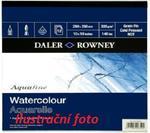 Daler & Rowney  Blok Aquafine Watercolour  35x35, 300 g/m2,  12 listů