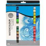 Daler&Rowney Simply Watercolour  Sada akvarelových barev - 24x12 ml