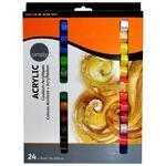 Daler & Rowney Simply Acrylic Sada akrylových barev - 12x12ml
