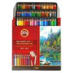 Mondeluz Akvarelové pastelky - 72 ks v papíru