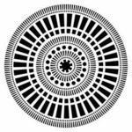 "Šablona TCW 6""x 6"" Mayan Calandar - mini"