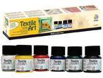 Textile Art barvy na světlý textil - Start, 6x20ml