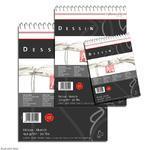 SketchPad Dessin Spiral, A6,150 g/m2, 25 listů