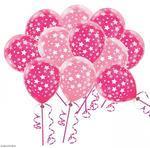Balónky s hvězdami (7ks)