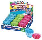 Bambino Ořezávátko na 3 průměry - modré, zelené, růžové