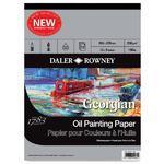 Daler & Rowney Skicák Georgian Oil - 305x229 mm, 12 listů
