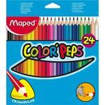 Maped Color´Peps Pastelky trojhranné  24 ks