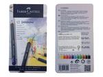 Faber-Castell Pastelky Goldfaber - 12 ks v kovové kazetě