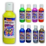 Jovi Temperové barvy glittrové 250 ml - žlutá
