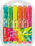Stabilo Swing Cool ColorMatrix - zvýrazňovač, 6 barev