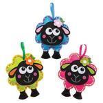 Šicí souprava - Načechraná ovečka, 3ks