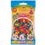 Hama Midi  Zažehlovací korálky  6000 ks - mix neonových barev