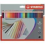 STABILOaquacolor  Sada pastelek - 36 ks