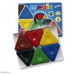 Voskové pastelky Triangle Wax Crayons Magic - včelí vosk  6ks