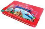 Faber-Castell Pastelky Classic Colour - set 48 ks v plechové krabičce
