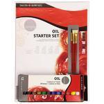 Daler & Rowney Simply Oil Starter Set - sada olejových barev s příslušenstvím, 16ks