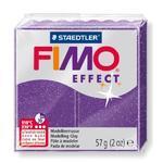 FIMO Effect 57 g č. 602 - fialová se třpytkami