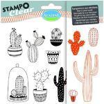 StampoClear Gelová razítka - Kaktusy