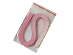Proužky na Quilling Tónované šířka 3mm - růžovobílé