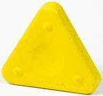 Vosková pastelka TRIANGLE MAGIQUE NEON - citronově žlutá