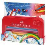 Faber-Castell Colour Grip 2001 - Pastelky v dárkové plechové krabičce - 18 ks