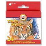 Trojhranné voskovky Trio Wax - slabé 8,2 mm, 24 ks