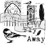 """Šablona TCW 12""""x 12"""" Fly Away"""
