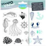 StampoClear Gelová razítka - Mořský svět