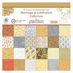"""Dekorativní papír 30x30 cm """"Marriage"""" 24 listů"""