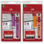 """Faber-Castell Inkoustové kuličkové pero - roller  i pro """"L"""" + náhradní bombičky"""