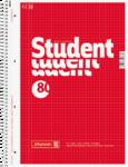 Student blok A4, čtvereček 80 listů spirála