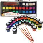 Daler & Rowney Simply Acrylic Sada barev v kufříku - 40 ks
