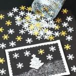 Flitrové sněhové vločky - 50g