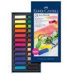 Faber-Castell QUALITY  Měkké pastely - 24 ks mini
