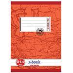 Školní sešit A5 544, bezdřevý linkovaný - 40 listů