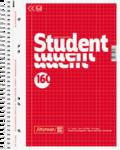 Student blok A5, čtvereček 160 listů spirála