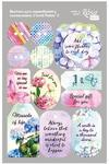 Visačky 12.8 x 20 cm - Floral Poem 2