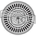 "Šablona TCW 12""x 12"" Mayan Calendar"