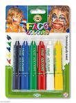Koh-i-noor Obličejové barvy - 6ks