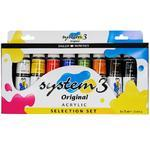 Daler & Rowney - System 3 Original Selection Set 8 x 75 ml