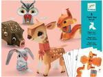 Origami skládačka - Zvířátka z lesa
