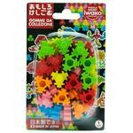 Guma figurky 36ks / blister - hexagon puzzle
