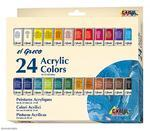 Sada barev Akrylic Colors el GRECO - 24x12 ml