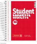 Student blok A6, čtvereček 160 listů spirála