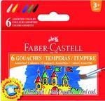 Faber Castell Temperové barvy 6 x 15 ml v kelímcích