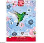 Blok na akvarelovou malbu - Kolibřík II, A4, 180 g/m2, 20 listů