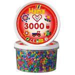 Hama MIDIZažehlovací korálky v tubě 3000 ks - mix barev